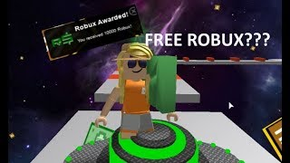 ACTUALLY getting free robux?