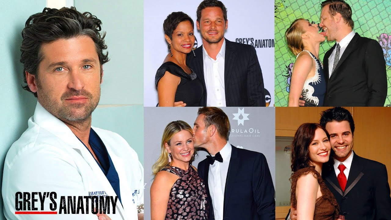 Real Life Couples Of Greys Anatomy Youtube