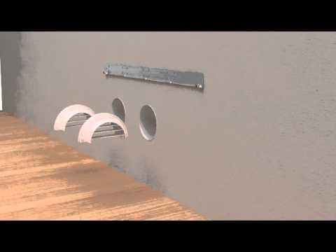 Installazione Unico Olimpia Splendid dall\'interno - YouTube