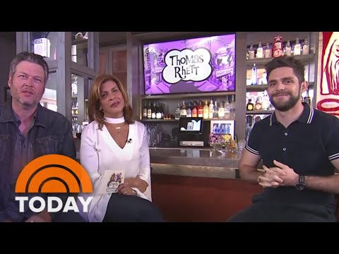 Thomas Rhett Talks About His Family And...