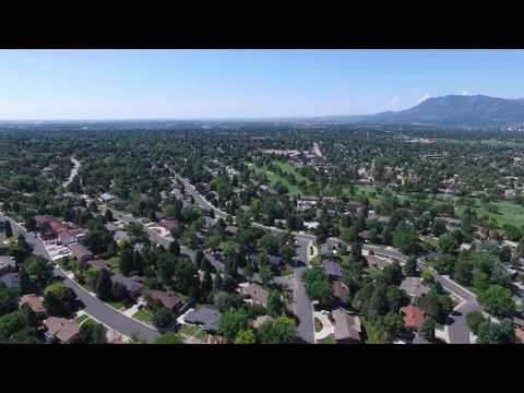 Palmer Park, Colorado Springs CO - Drone