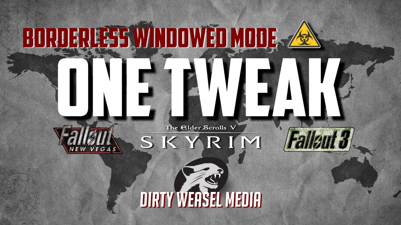 OneTweak at Skyrim Nexus - mods and community