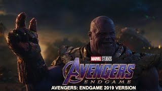 Thanos Death Scene Soundtrack - Avengers: Endgame - Alan Silvestri - One Way Trip - Full HD