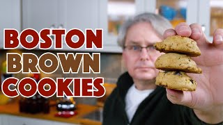 1938 Boston Brown Cookies Recipe || Glen & Friends Cooking