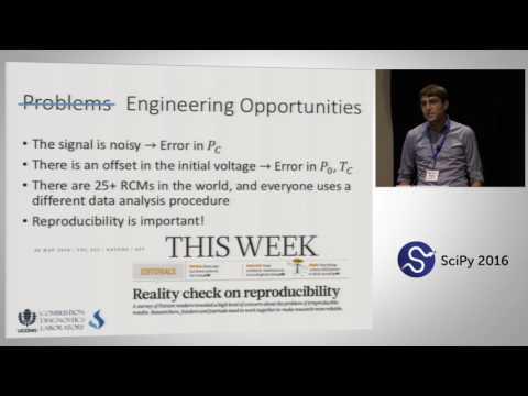 UConnRCMPy: Python-based Data Analysis for Rapid Compression Machines | SciPy 2016 | Bryan Weber