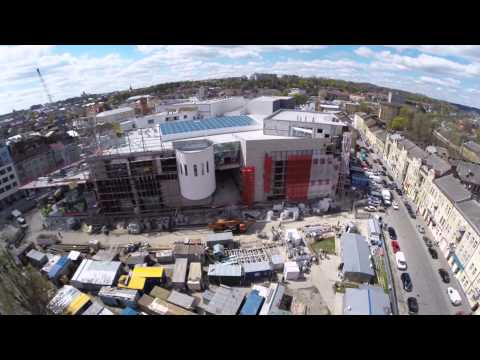 Forum Lviv Shopping Center. Construction progress. Week 5. April 2015 updated