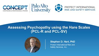 Assessing Psychopathy using the Hare Scales PCL-R & PCL:SV