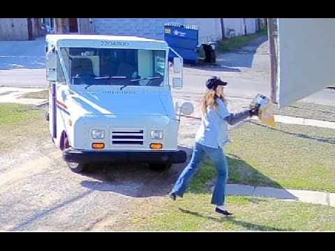 USPS Throws Packages onto Porch