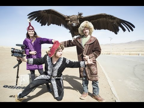 HUNTING WITH EAGLES - TRAVELLING IN MONGOLIA (Part 1)