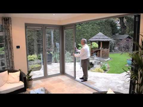 Corner Post Bifold Doors Configuration Youtube