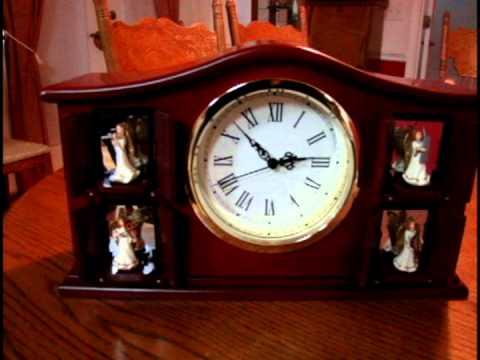 mr christmas musical clock - Musical Christmas Clock