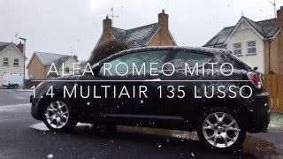 Alfa Romeo MiTo 1.4 MultiAir 135BHP Lusso in Black