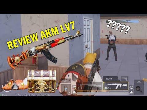 PUBG MOBILE | Review AKM Seven Seas Level 7 | Solo Squad Top 1 | مراجعة  AKM Seven Seas المستوى 7