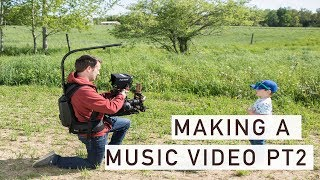 Making a Country Music Video Behind the Scenes Day 2 | Adam Cousins' Dirt Road