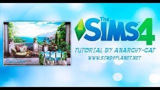 The Sims 4: Создание фото обоев
