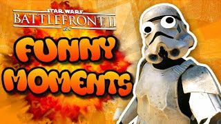 Star Wars Battlefront 2 Funny Moments Montage [FUNTAGE] - Funniest Moments So Far