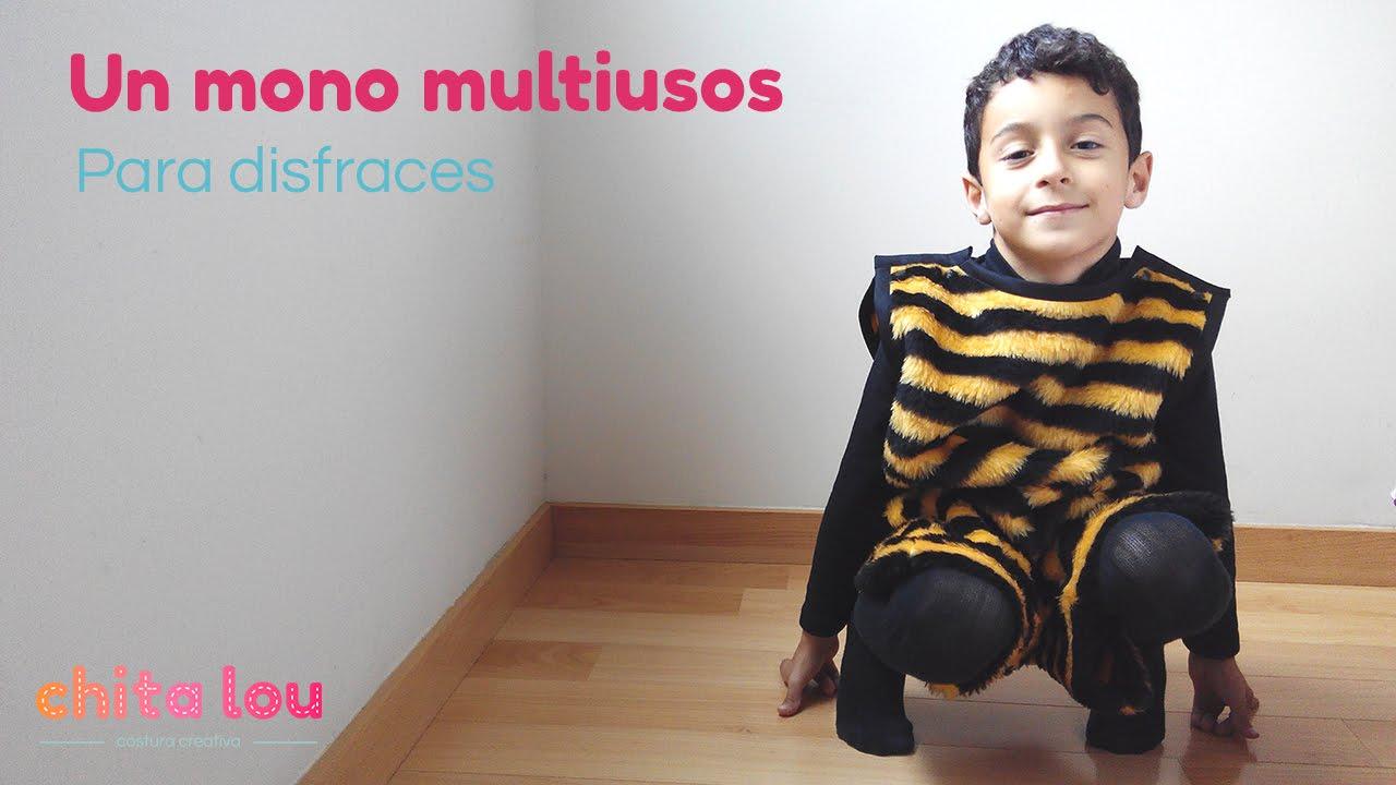 Cómo hacer un disfraz de abeja fácil y rápido con un mono multiusos ... 1be9c4cac1a