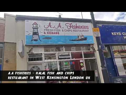 A A Fisheries - Halal Fish And Chip Shop In London - West Kensington