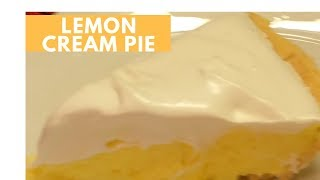HOW TO MAKE A LEMON CREAM PIE (DAY 4: HOLIDAY CREAM PIES SERIES)