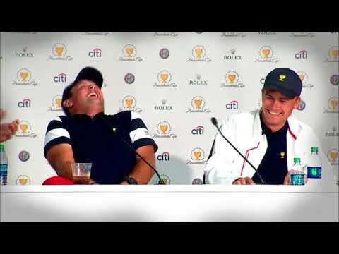 Team USA press conference at the 2017 Presidents Cup