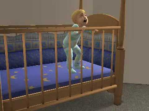 Sims 2 Toddler Escapes From His Crib Youtube