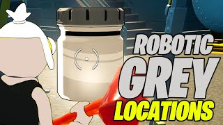 Find Bottles of Robotic Grey in Destroyed Dish  (ALL 3 LOCATIONS) - Fortnite