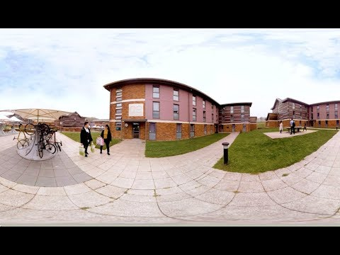 University of Sussex Virtual Tour: Housing | 360° video