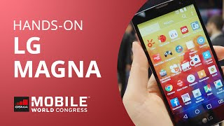 LG Magna [Hands-on | MWC 2015]