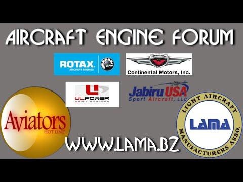 Aircraft Engine Panel, Continental, UL Power, Rotax, Jabiru, Sun N Fun 2016