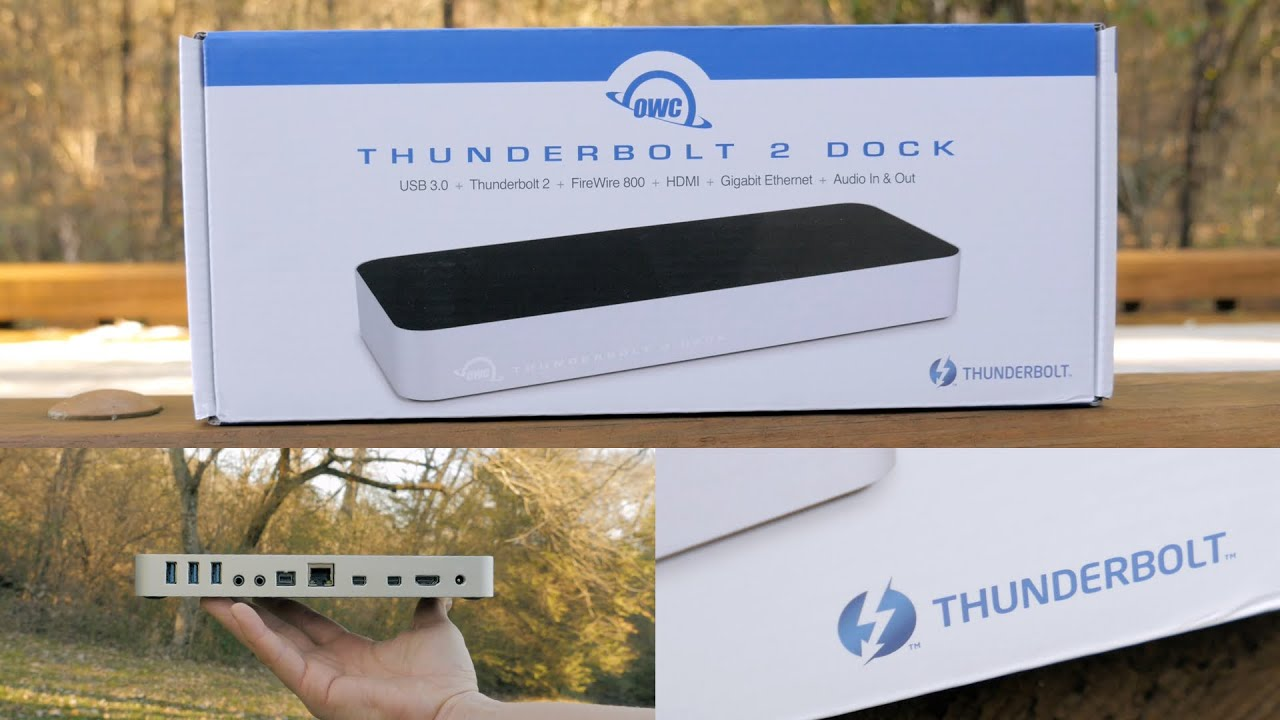 Best Mac Dock Ever? OWC Thunderbolt 2 Dock Unboxing and Review ...