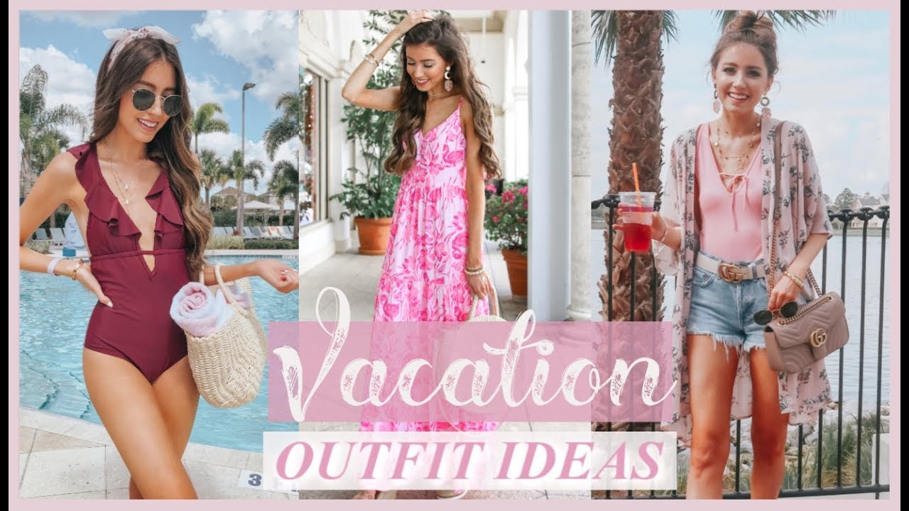 16 VACATION + SPRING BREAK OUTFIT IDEAS 2019 | LACE & LASHES
