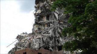 Brewster-Douglass Projects Demolition, July 18, 2014