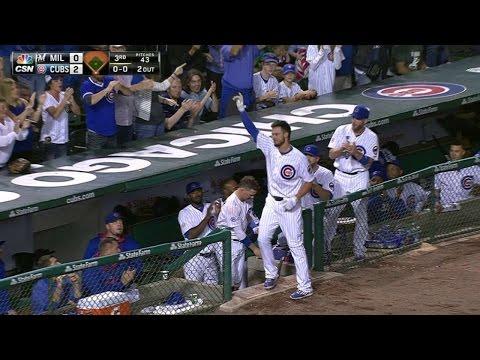 MIL@CHC: Bryant breaks Cubs