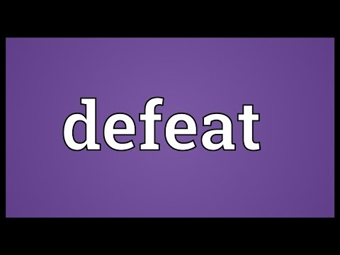 Defeat Meaning