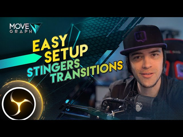 Stinger Transition Tutorial | How to Add Custom Stinger Transitions to OBS with Sound