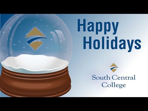 Holiday Greetings from Dr. Annette Parker of South Central College in Southern Minnesota