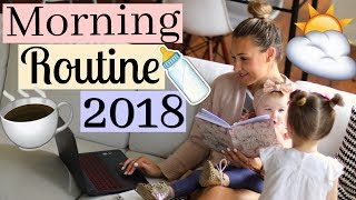 morning routine youtube mom of 2 mommy morning routine 2018 tara henderson