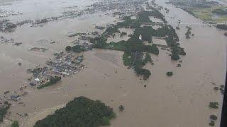 東日本豪雨、2県特別警報 鬼怒川が氾濫 thumbnail