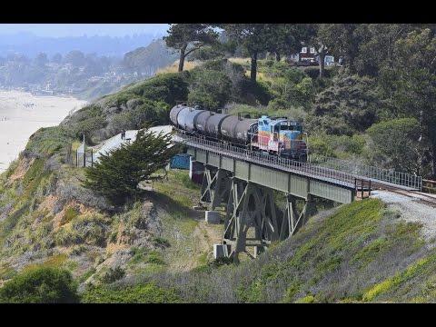 Trains Return to the Santa Cruz Branch
