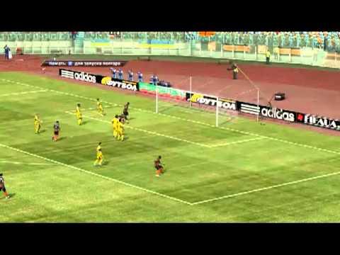 Обзор игры Fifa 11 Украинская премьер лига