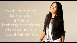Jasmine V - Just A Friend (Lyrics)