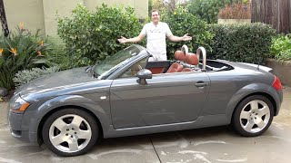 The Original Audi TT Is an Underrated, Beautiful Car