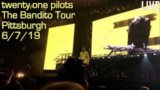 Скачать Concert Clips Twenty One Pilots The Bandito Tour Pittsburgh 6 7 19