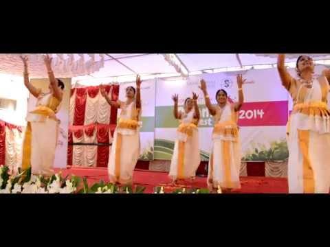 Poothangaadi... Onam theme song dance - Confident ATIK Onam Fest 2014