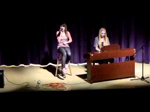 Ashlee Simpson - Catch Me When I Fall Lyrics (Cover by Angie Manning)