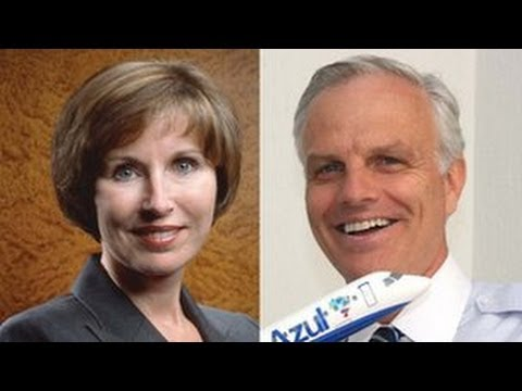 Kathleen Taylor and David Neeleman - Ideas Exchange - BBC