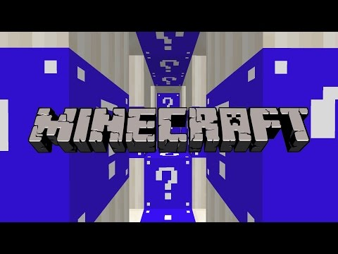 Minecraft NAVY Lucky Blocks Mod Village Destruction