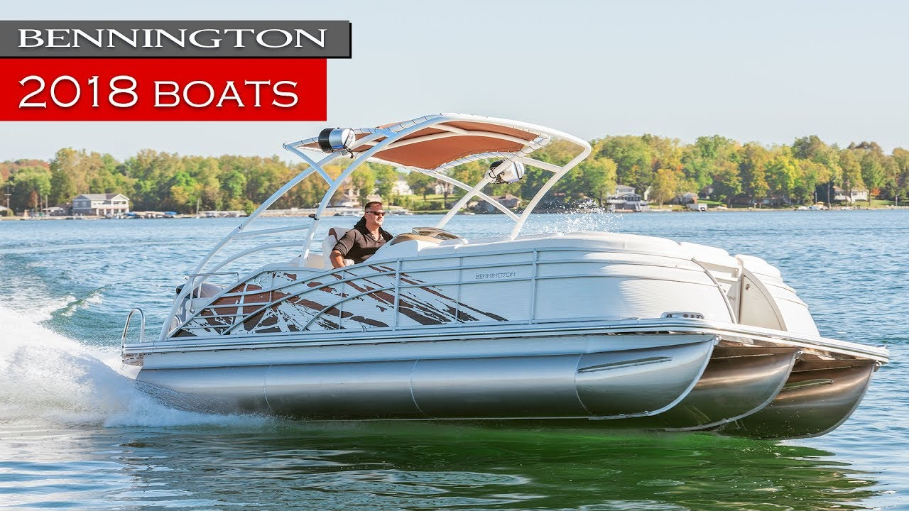 New Bennington Pontoon Boats | 2018 On Water Review