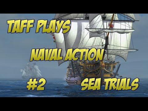 Naval Action Beta - Sea Combat Trials Brig & Snow
