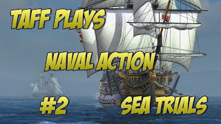 Naval Action Beta - Sea Combat Trials Brig & Snow